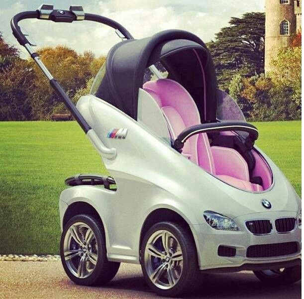 Amazing... BMW Baby Stroller! ;D | Things I like ...