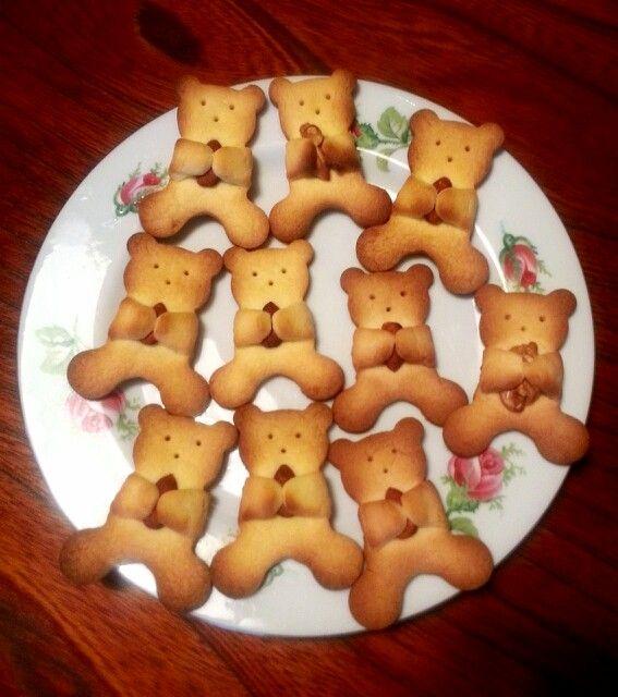 【くまさんのクッキー】