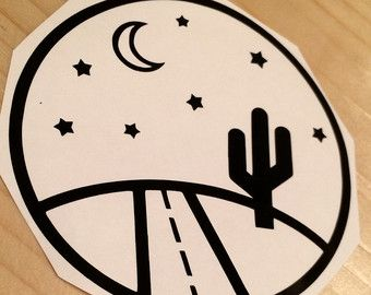 Cactus Vinyl sticker Vinyl Stickers Laptop sticker door LunaSavita