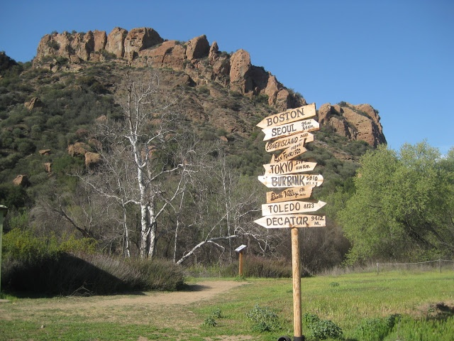 set from MASH in Malibu Creek State Park