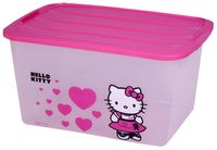 Iris kunststof opbergbox Hello Kitty 45 l