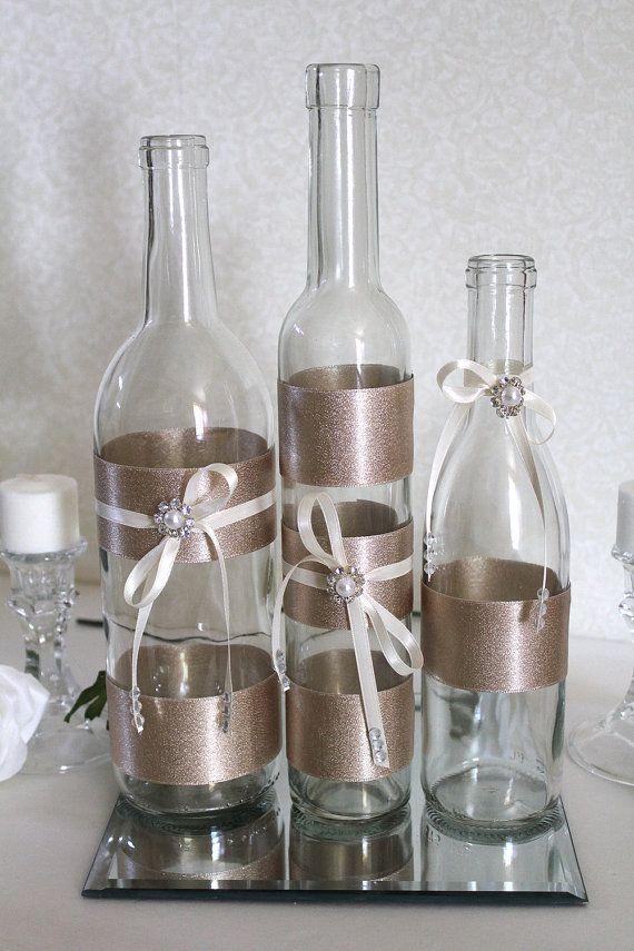 25 unique wine bottle flowers ideas on pinterest wine for Cool wine bottle ideas
