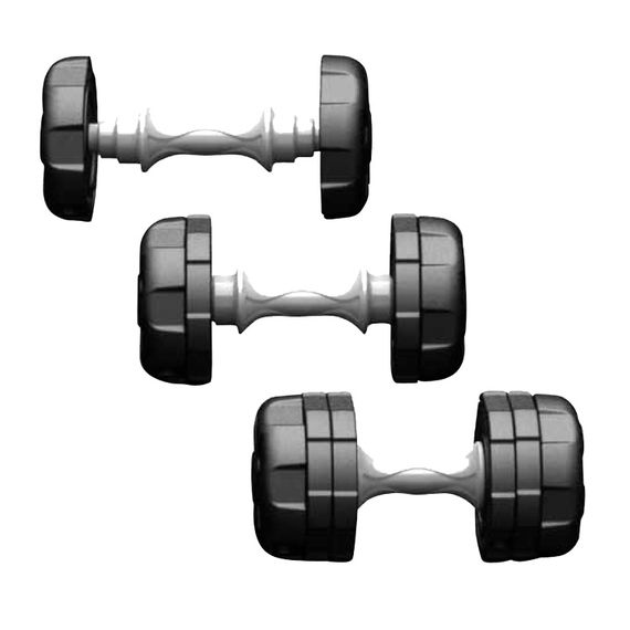 10KG Adjustable dumbbell set, ideal for home or club use. #fitness #mma #martialarts
