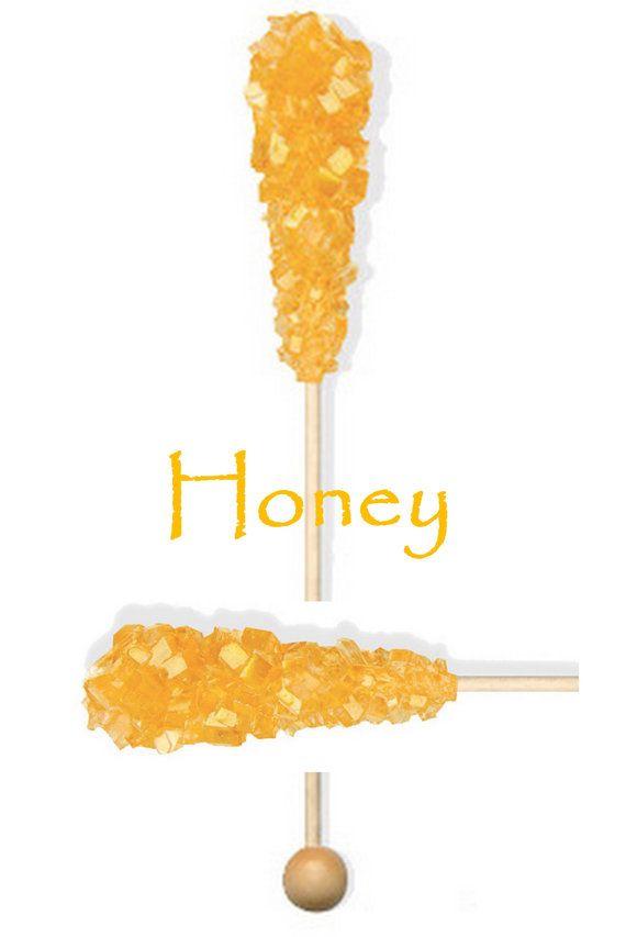 honey stirrer sticks to go in the coffee/tea bar