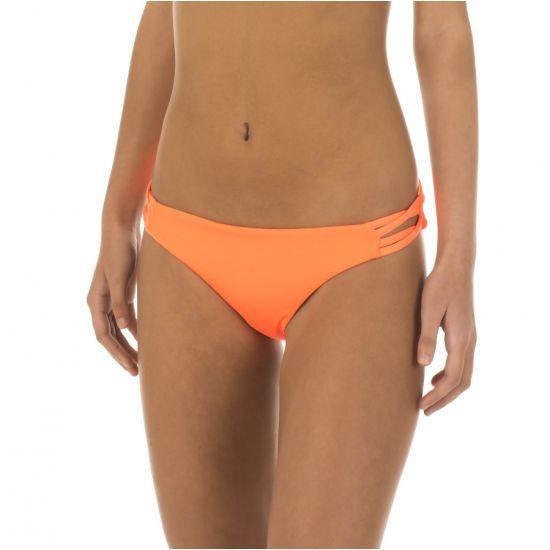 Bas de maillot de bain Rip Curl Culotte Réversible Mirage Hipster Orange Fluo