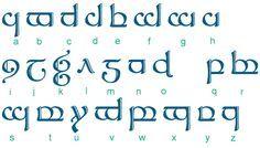 La Langue Elfique
