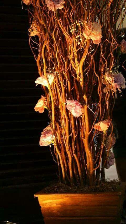 Árvores de galhos e. Lisiantus...