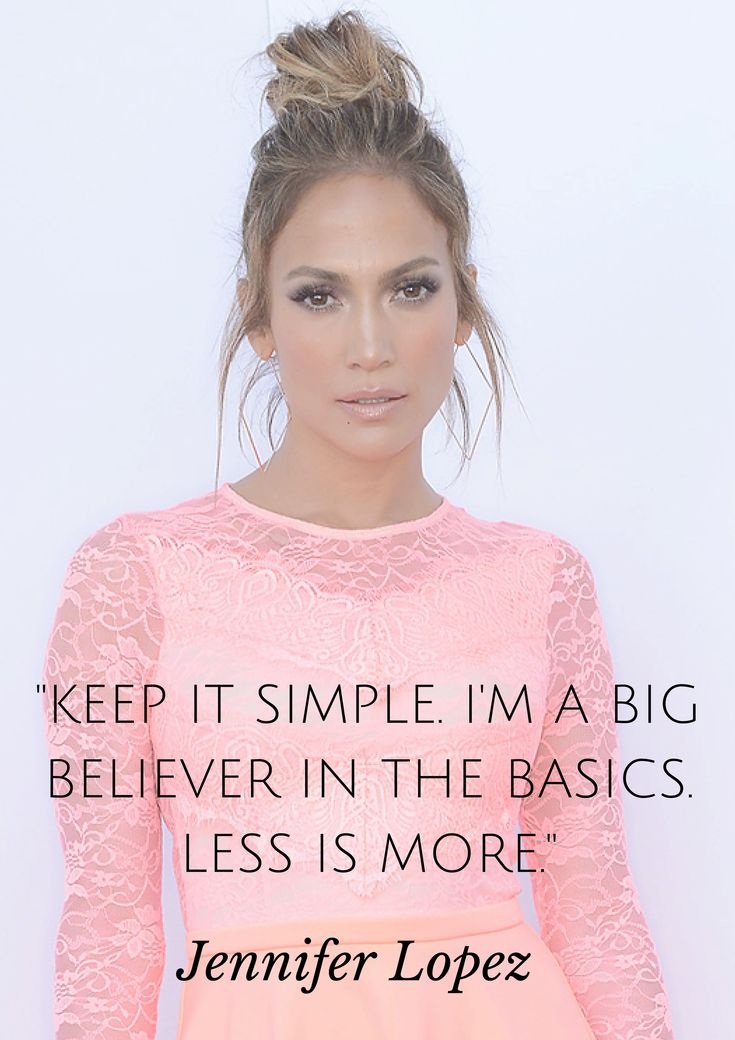 Jennifer Lopez reveals one of her favorite beauty tips..
