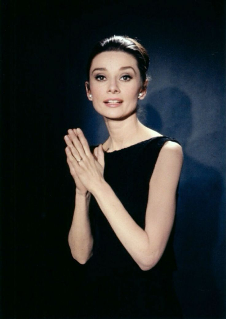 Audrey Hepburn - publicity photo for Charade (1963).
