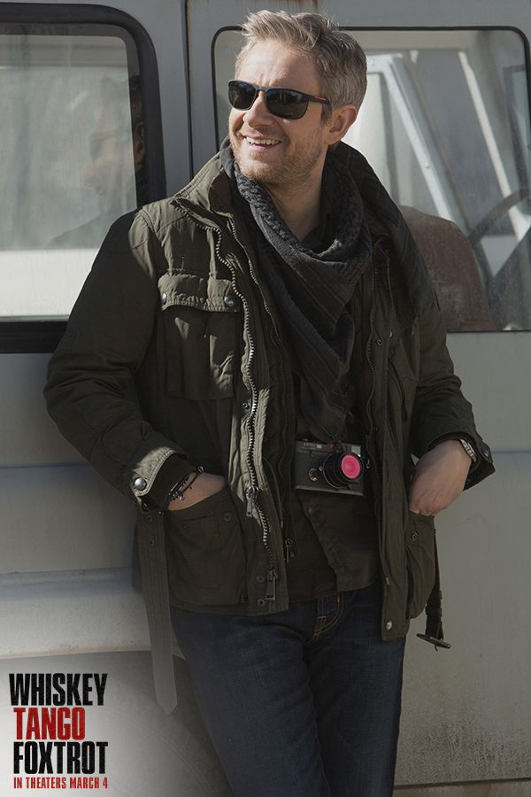 Martin Freeman in Whiskey Tango Foxtrot | In theatres March 4, 2016 // Dear God!!! <3_<3