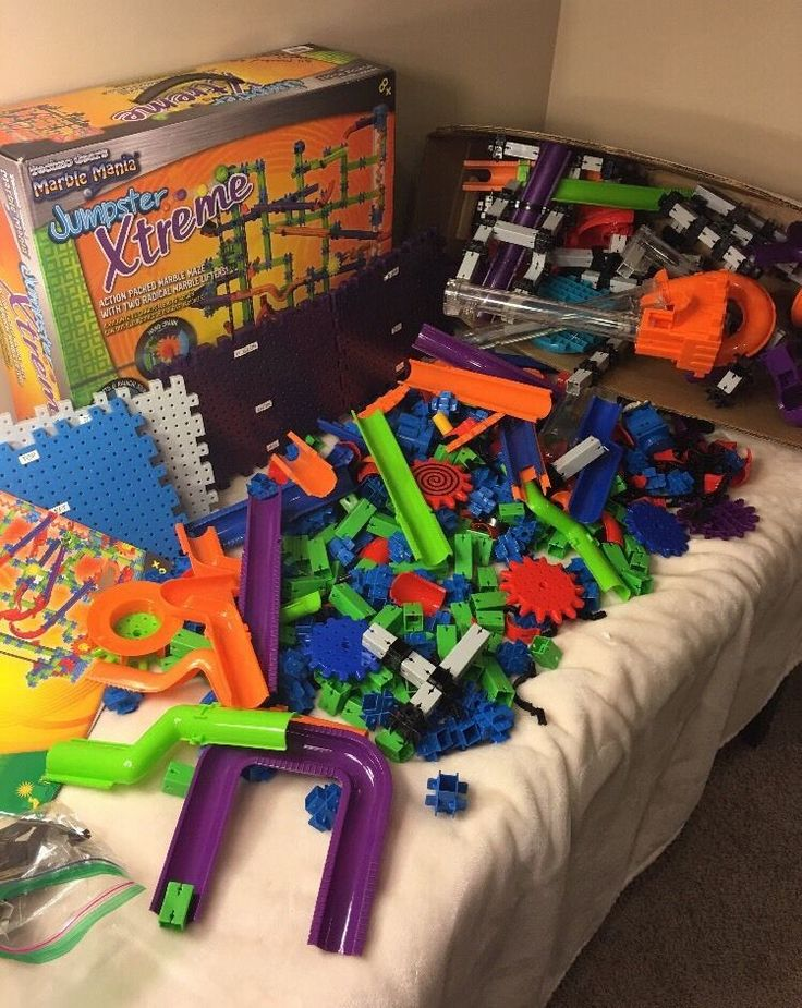 Marble Mania Jumpster Xtreme Marble Maze Techno Gear With Another Set Lots Extra  | eBay