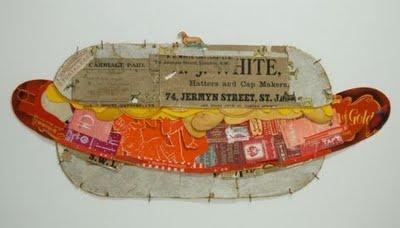 Artcolony: Peter Clark famous collage artist