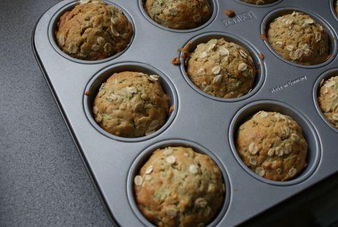 Zdrowe muffiny z cukinią