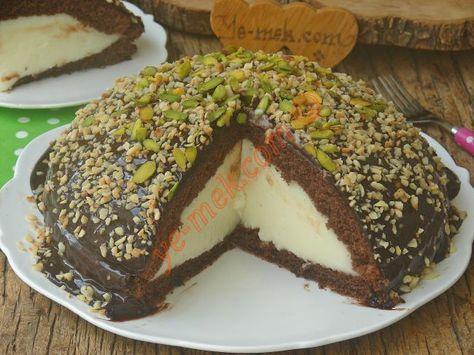 Hem sütlü tatlı tadında, hem de kek görünümünde nefis bir pasta tarifi...