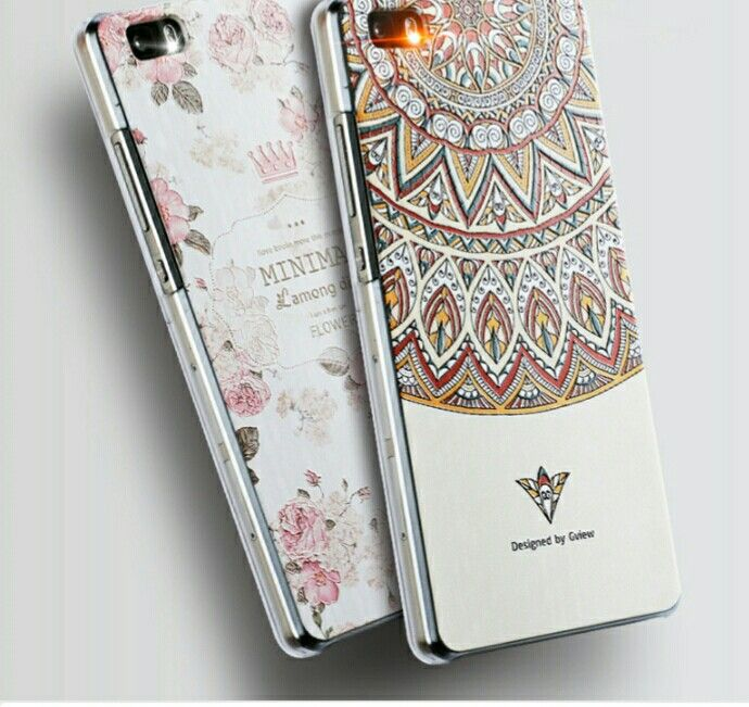 Deux coques girly pour huawei p8 lite