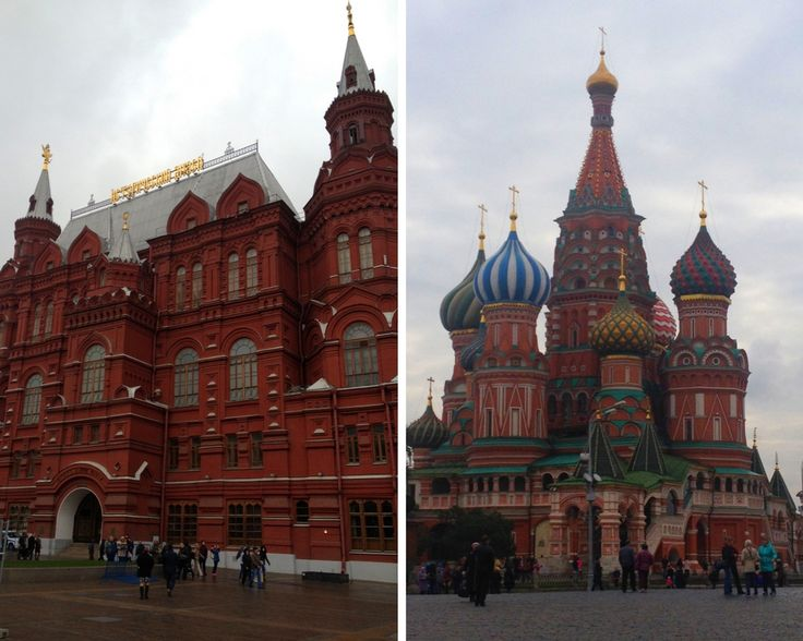 Two Days in Moscow – The Girls Who Wander