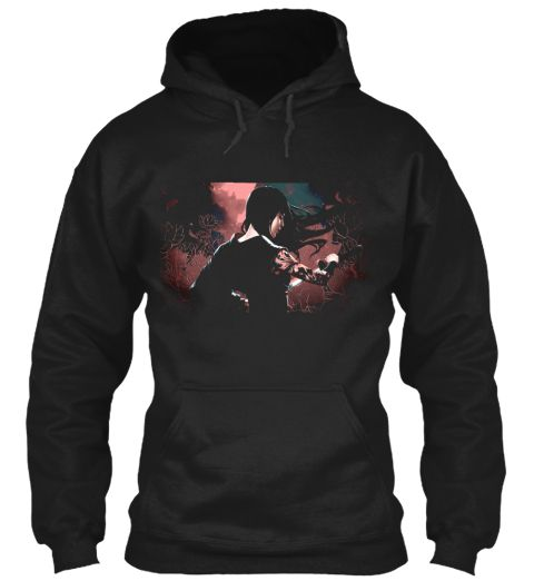 Yakuza Black Sweatshirt Front