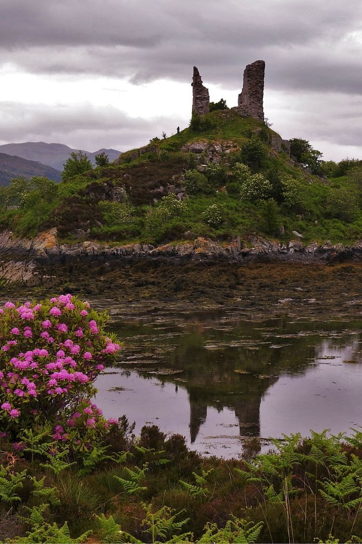 Bare Castle - The Isle Of Skye - Scotland - Highlands