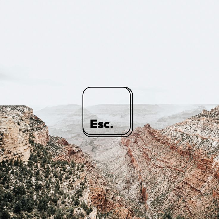 Escape | Adventure | Work | Icon | Graphic Design | Typography | The Binding