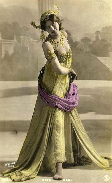 Immediately after her execution by the French, questions rose about the justification of her execution. The idea of an exotic dancer working as a lethal double agent, using her powers of seduction to extract military secrets from her many lovers fired the popular imagination, and made Mata Hari an enduring archetype of the femme fatale.