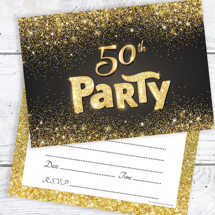 einladungskarten : einladung 50 geburtstag originell