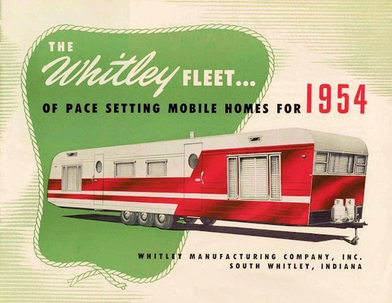 Vintage Mobile Home Ad