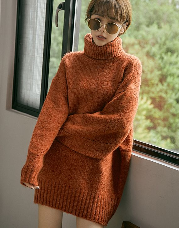Striped Ribbed Cashmere Turtleneck in 2020   Cashmere
