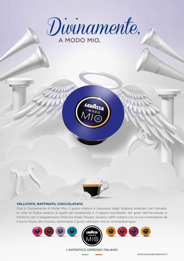 Lavazza Coffee Campaign by The Makerie Studio , via Behance