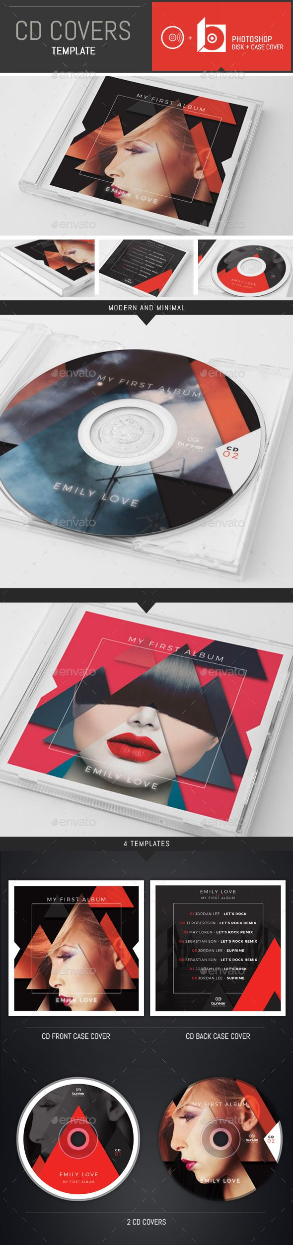 DJ Music Triangle CD Cover Template PSD. Download here: http://graphicriver.net/item/dj-music-triangle-cd-cover-template/12836473?ref=ksioks