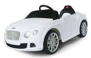 Rastar 82100 Bently Continental GTC 12V White  — 14844р. ------- Радиоуправляемый электромобиль Rastar 82100 Bently Continental GTC 12V - 8210 - это легкая и удобная в управлении машинка, которая развивает безопасную скорость до 4 км/ч и рекомендуется детям от 2 до 5 лет. Руль с различными мелодиями поднимет ребенку настроение и сделает поездку еще более увлекательной и интересной. У машинки удобное для малыша сиденье, его эргономика оценивается в 10 баллов. В комплекте поставляются пульт…