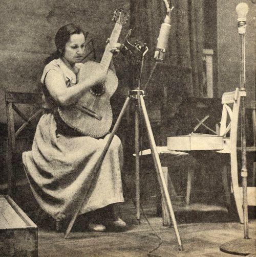 Violeta Parra - Chilean Folksinger, artist, ethnomusicologist, and visionary.
