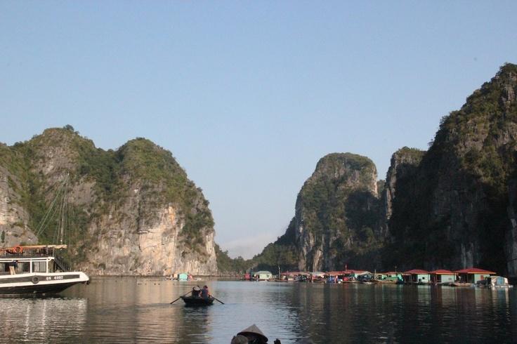 A village on the sea