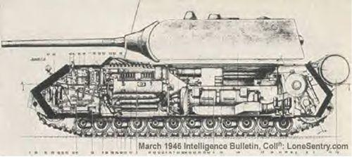 """Panzerkampfwagen VIII """" Maus """" and Landkreuzer """" Ratte """""""