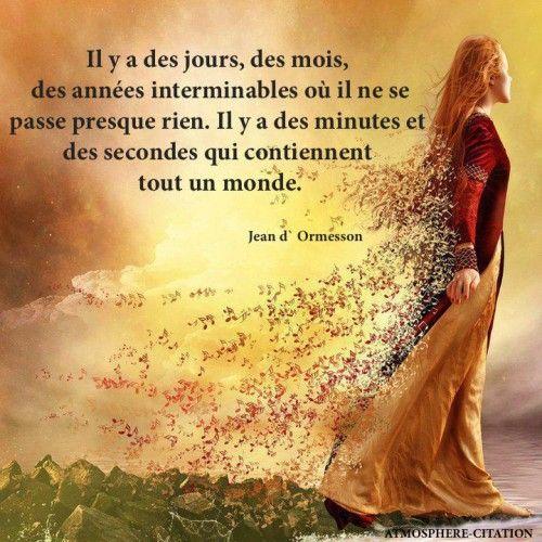 Citation Jean d'Ormesson