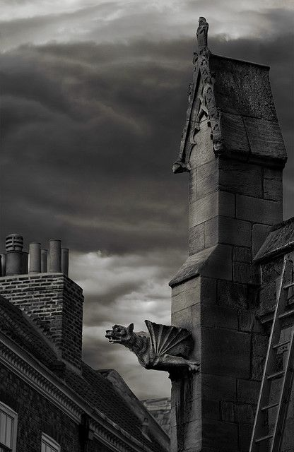 The History of Gargoyles & Grotesques (Facts, Information, Pictures)