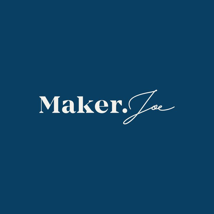 Maker Joe – Logo
