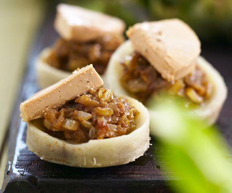 Fonds d'artichaut au foie gras
