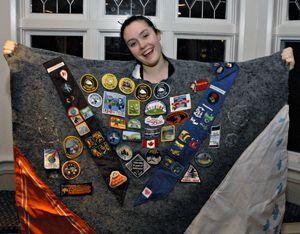 Martha MacNeil's camp blanket