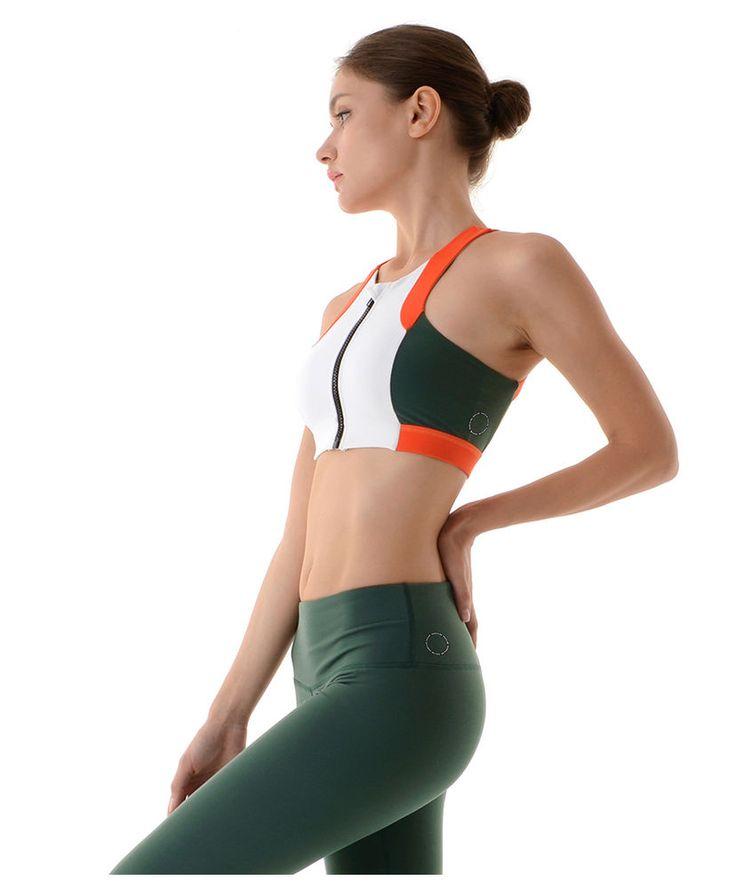 [FRONT2LINE] Women's Breezy Design Yoga/Sport Bra Top #Front2line #Bratop