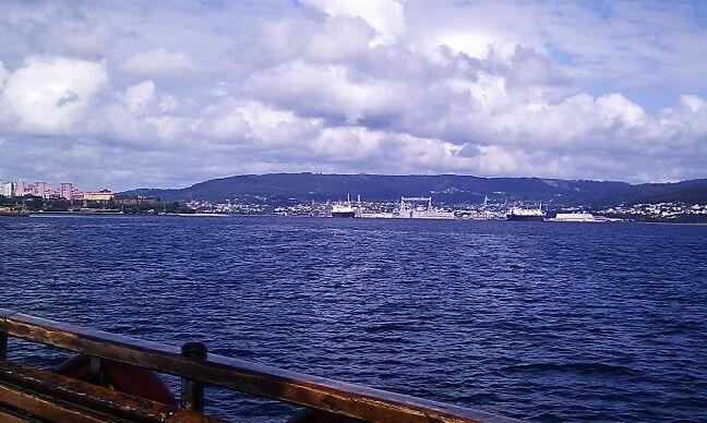 Ria de Ferrol dende dentro 2014