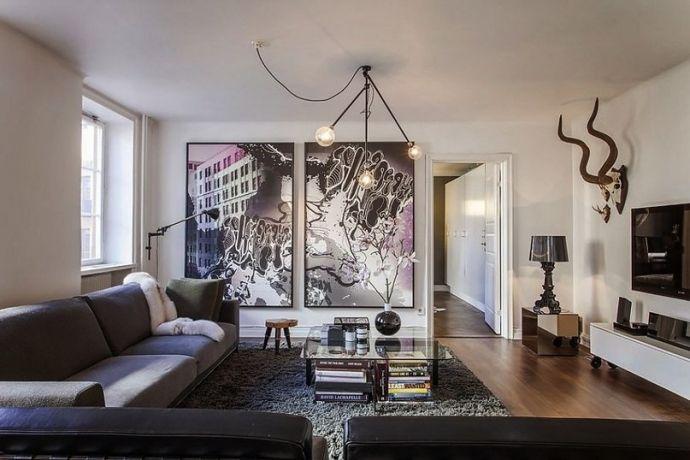Квартира площадью 66 кв.м. - Дизайн интерьеров   Идеи вашего дома   Lodgers