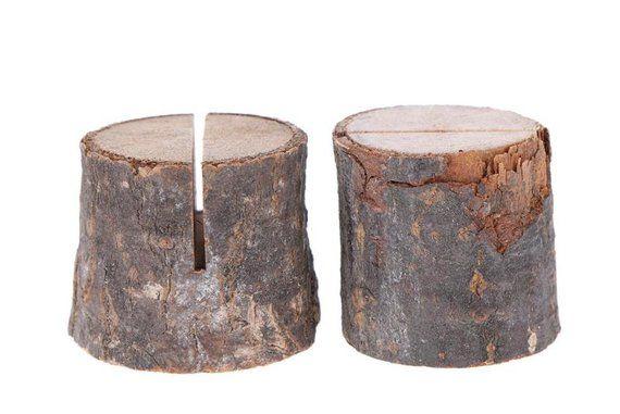 Table Cards Holder Wood Boho Wedding Wedding Table Decoration