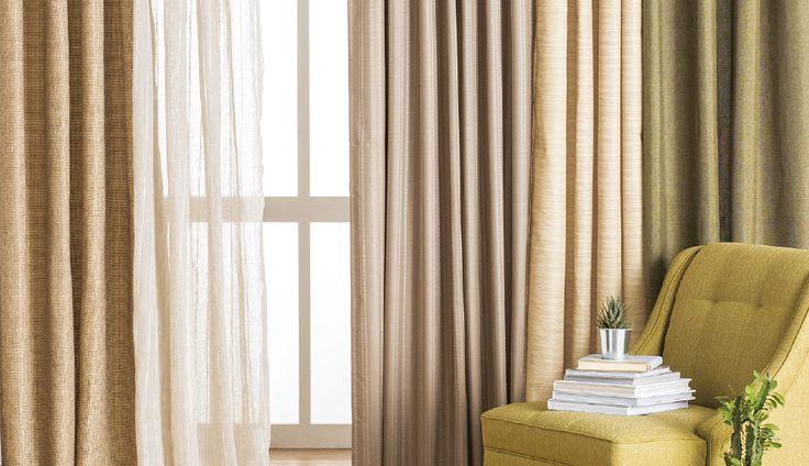 ¡Que las cortinas de tu casa reflejen tu estilo! #TiendaEasy #Invierno #Calefacción #Cortinas