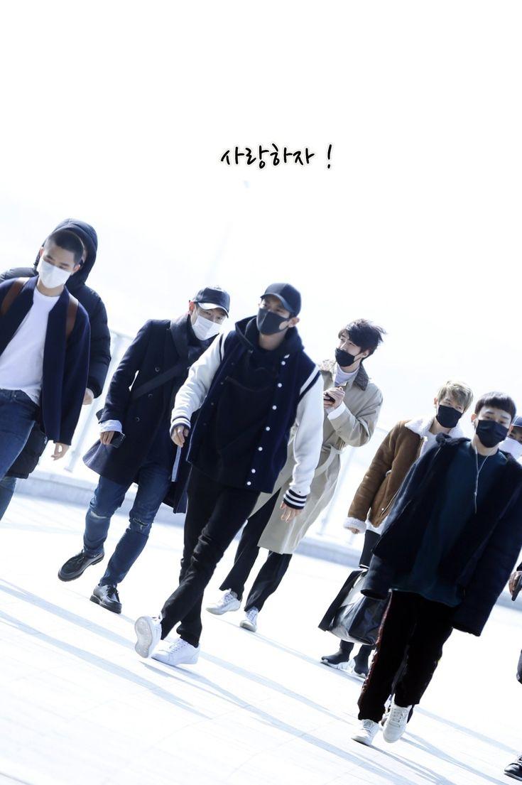 [HQ] 180222 EXO at ICN Heading to Osaka Japan