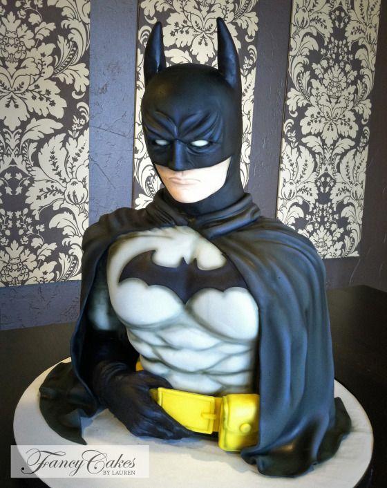Batman Cake made by Fancy Cakes By Lauren