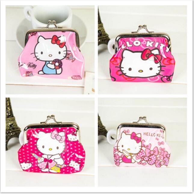 Hello Kitty Wallet Mini Coin Purse Cheap Mini Wallets NO Mini Order 1PC Lowest Price 2016 Hot Fashion