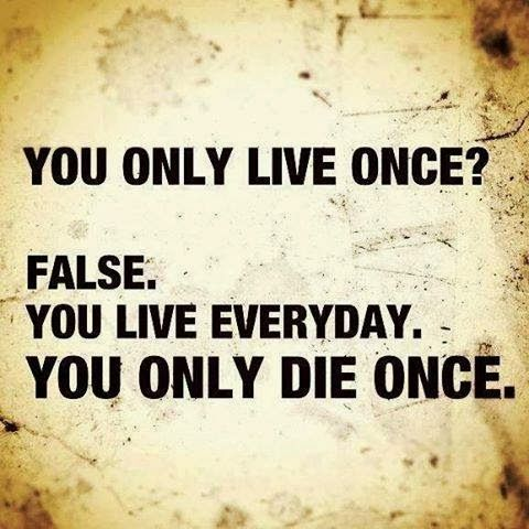 Live everyday: Food For Thoughts, Living Everyday, Living Life, Wisdom Quotes, Truths, So True, Living Once, Inspiration Quotes, True Stories