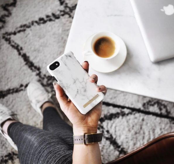 White Marble by @ isabellasess - Fashion case phone cases iphone inspiration iDeal of Sweden #marble #gold #fashion #inspo #iphone #marmor