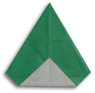 Origami alphabet(A)
