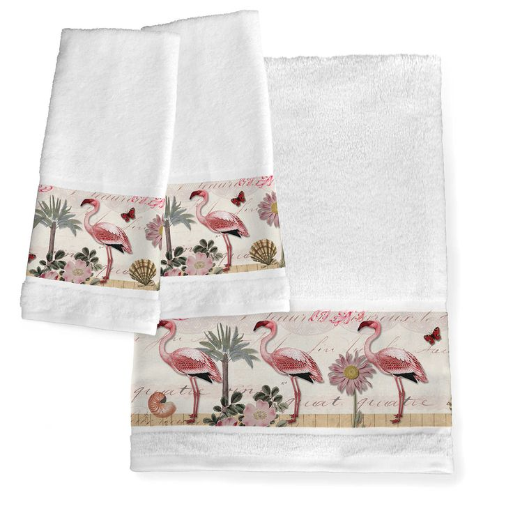 561 best 39 flushed 39 flamingos bathroom decor accessories images on pinterest anna lee bath for Flamingo bathroom accessories set
